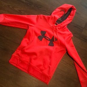 Other - pink under armor hoodie